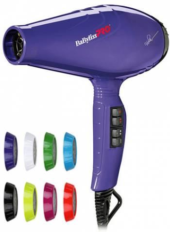 Babyliss Pro Luminoso Viola Ionic 2100W BAB6350IPE Профессиональный  парикмахерский фен для волос 01dda1be4715b